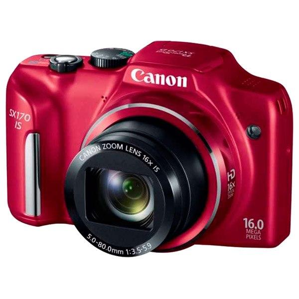 Фотоаппарат компактный Power Shot SX170 IS Red, Canon