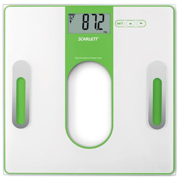 Весы напольные SC-212 Green, Scarlett