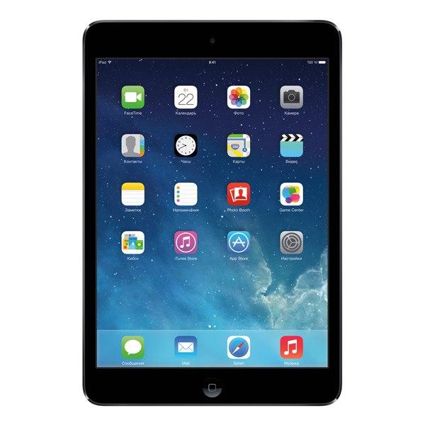 Планшет iPad mini 2 32Gb Wi-Fi Space Gray (ME277), Apple