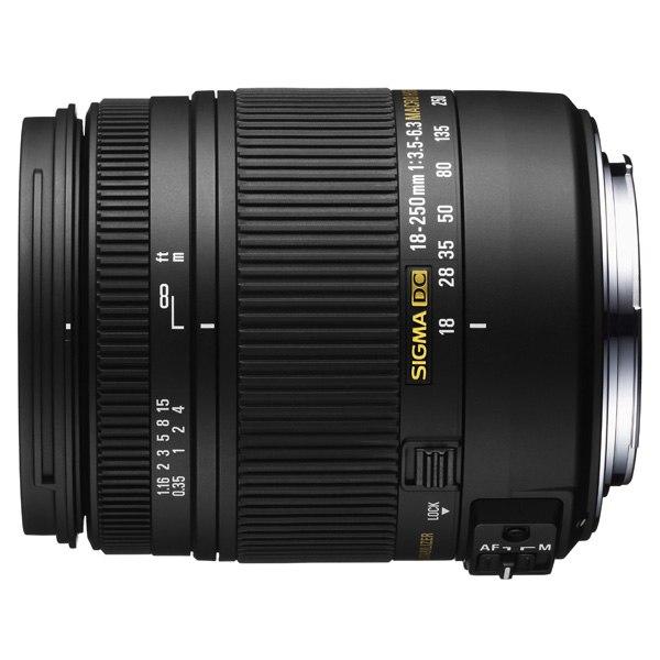 Объектив для зеркального фотоаппарата AF 18-250mm F3.5-6.3 DC MACRO OS HSM Nikon, Sigma