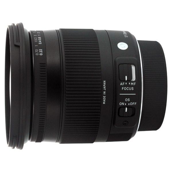Объектив для зеркального фотоаппарата 17-70mm f/2.8-4 DC Macro OS HSM Nikon, Sigma