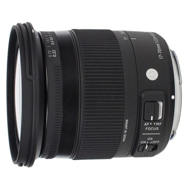Объектив для зеркального фотоаппарата 17-70mm f/2.8-4 DC Macro OS HSM Canon, Sigma