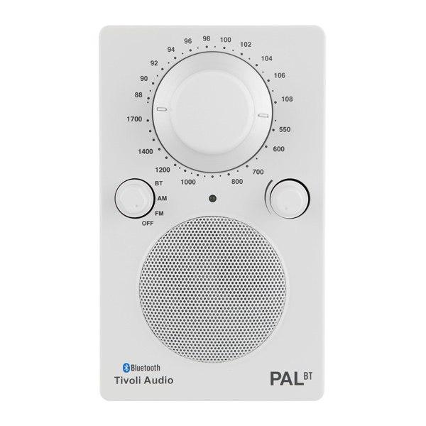 Беспроводная акустика Pal BT Glossy White (PALBTGW), Tivoli