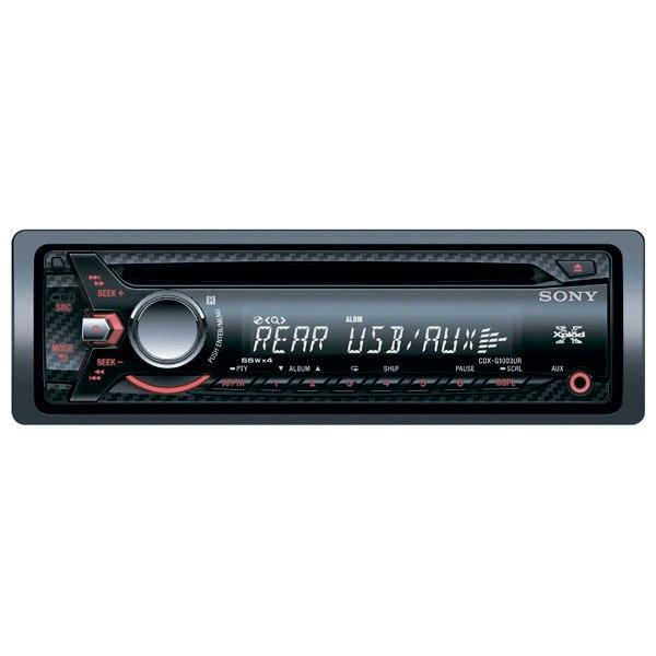 Автомобильная магнитола с cd mp3 CDX-G1003UR//Q, Sony