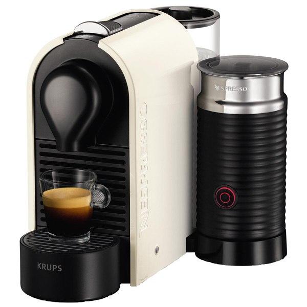 Кофемашина капсульного типа nespresso U & Milk XN260110, Krups