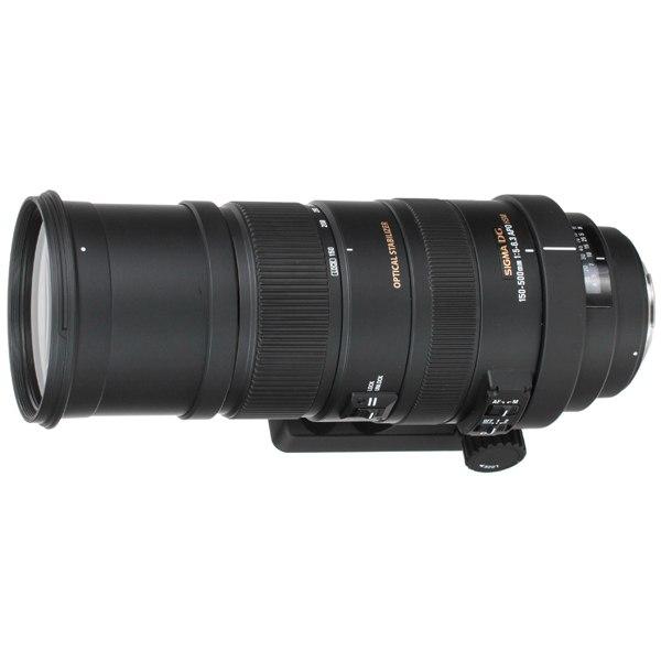 Объектив для зеркального фотоаппарата SAF 150-500mm f/5-6.3 APO DG OS HSM Canon EF, Sigma