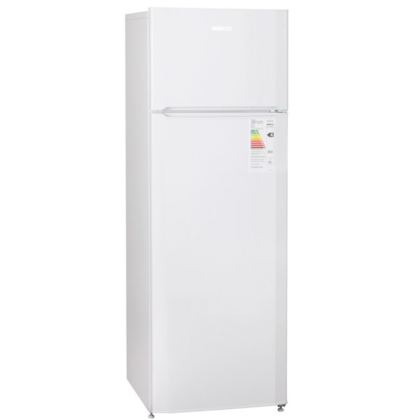 Холодильник с верхней морозильной камерой DSMV528001W, Beko