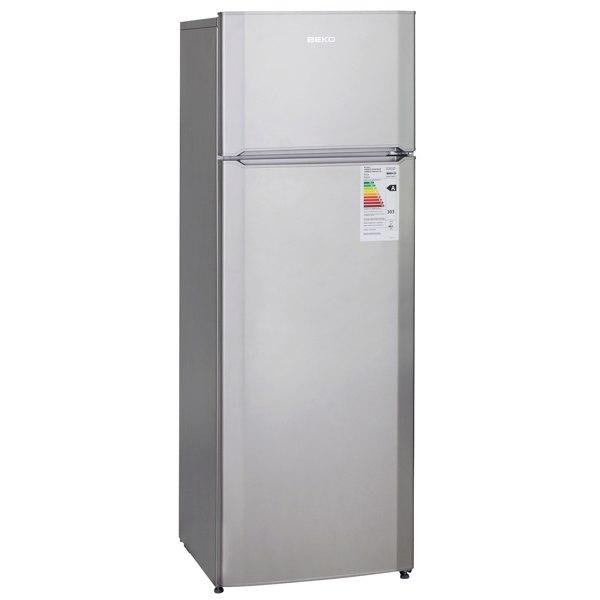 Холодильник с верхней морозильной камерой DSMV528001S, Beko