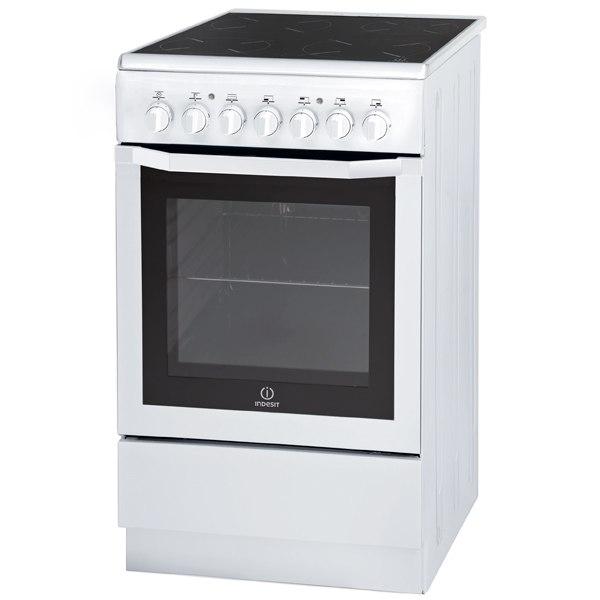 Электрическая плита (50-55 см) MVI5V22(W)/RU, Indesit