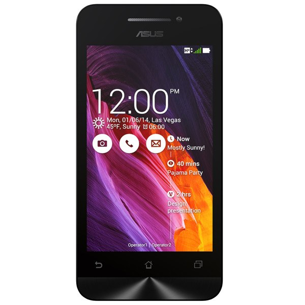 Смартфон Zenfone 4 A400CG-1A356RUS Black, ASUS