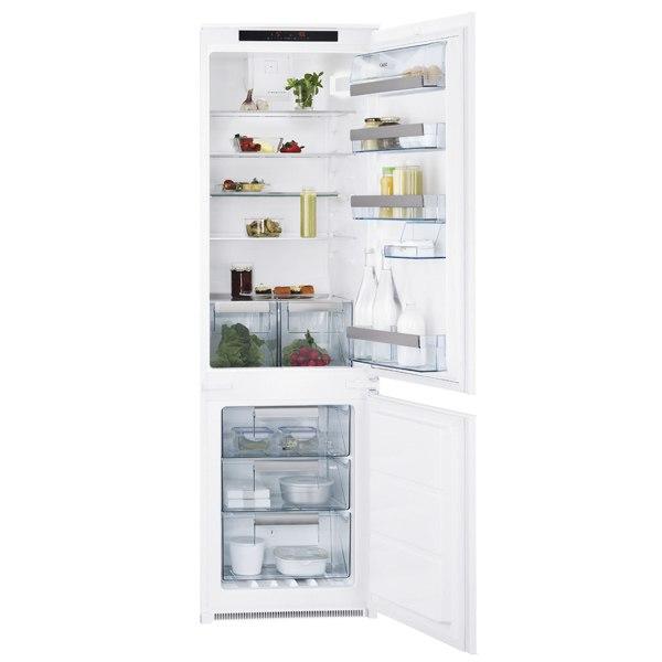 Встраиваемый холодильник комби SCT971800S, AEG