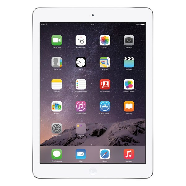 Планшет iPad Air 16Gb Wi-Fi Silver (MD788), Apple