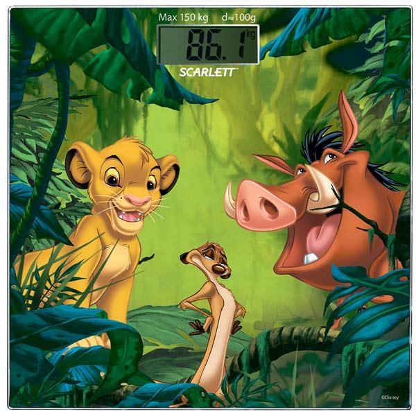Весы напольные Disney SC-BSD33E893, Scarlett