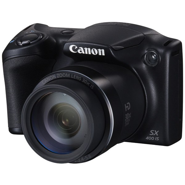 Фотоаппарат компактный PowerShot SX400IS Black, Canon