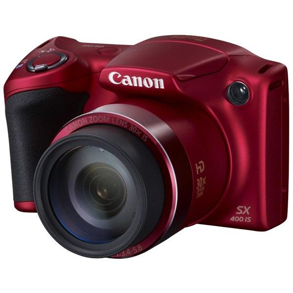 Фотоаппарат компактный PowerShot SX400IS Red, Canon