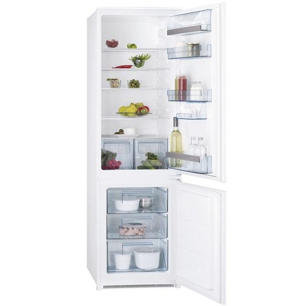 Встраиваемый холодильник комби SCS951800S, AEG