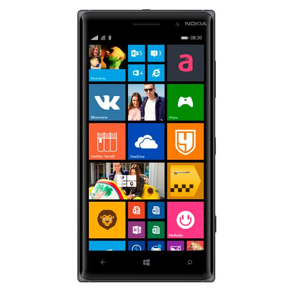 Смартфон Lumia 830 Black, Nokia