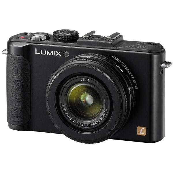 Фотоаппарат компактный Lumix DMC-LX7 Black, Panasonic