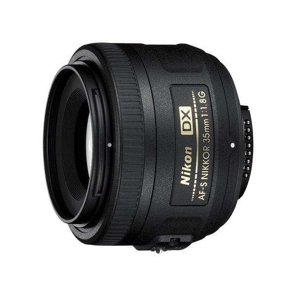 Объектив для зеркального фотоаппарата AF-S DX Nikkor 35mm f/1.8G, Nikon