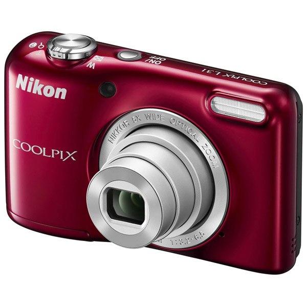 Фотоаппарат компактный Coolpix L31 Red, Nikon