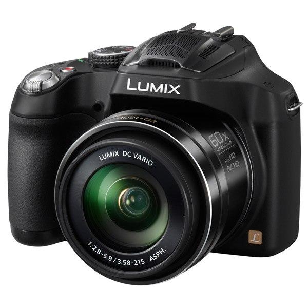 Фотоаппарат компактный Lumix DMC-FZ72 Black, Panasonic
