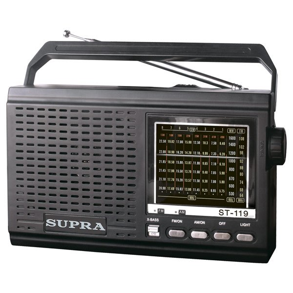 Радиоприемник ST-119, Supra
