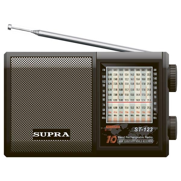 Радиоприемник ST-123, Supra