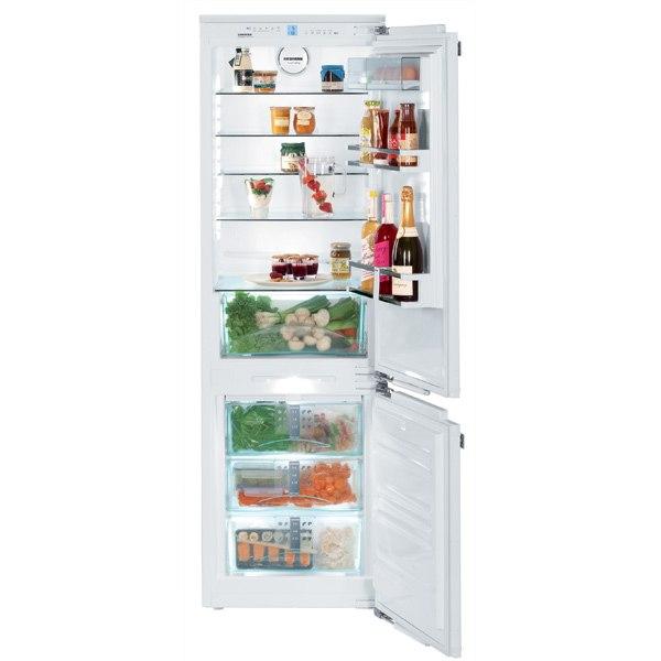 Встраиваемый холодильник комби ICN 3356-20, Liebherr