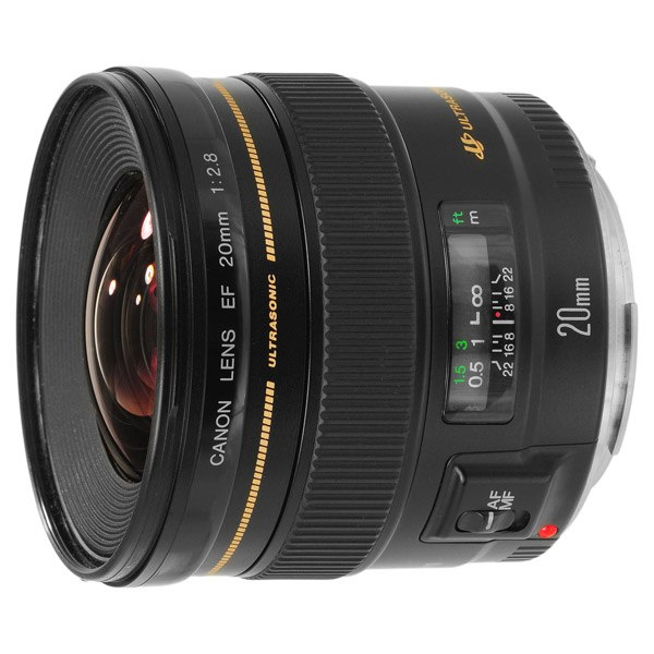 Объектив для зеркального фотоаппарата EF20 f/2.8 USM, Canon