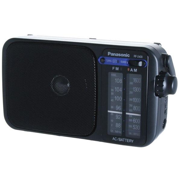 Радиоприемник RF-2400EE9-K, Panasonic