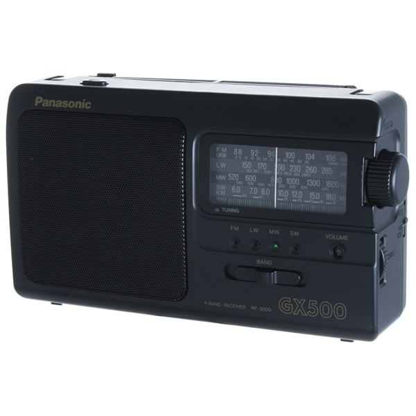 Радиоприемник RF-3500E9-K, Panasonic