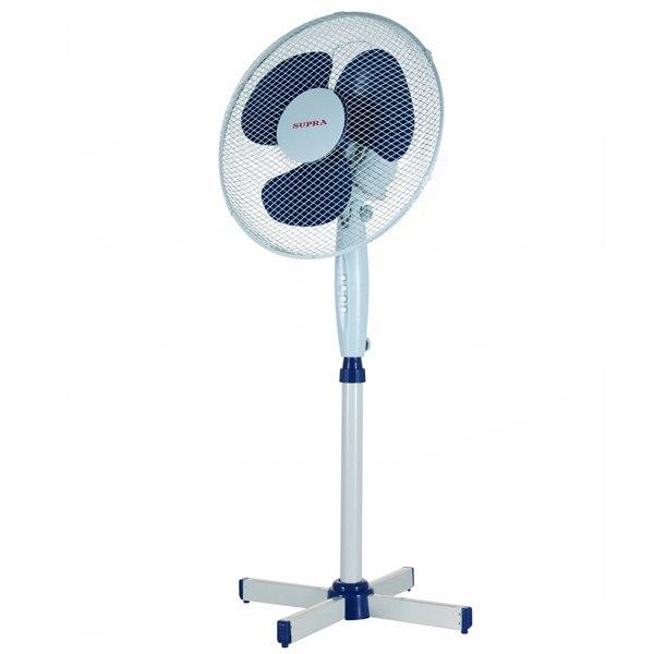 Вентилятор напольный MV-2005 Wh/Blue, Supra