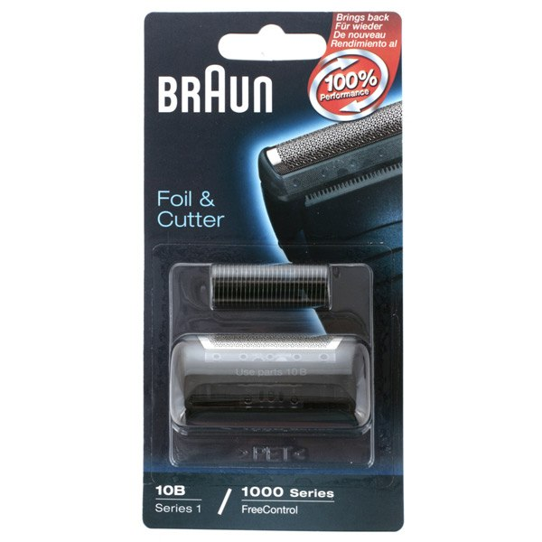 Сетка и режущий блок для электробритвы Series 1 10B, Braun