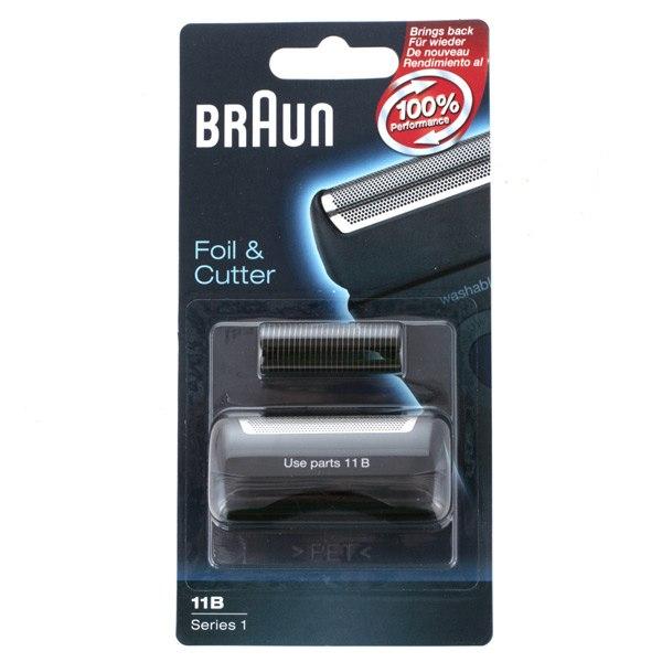 Сетка и режущий блок для электробритвы Series 1 11B, Braun