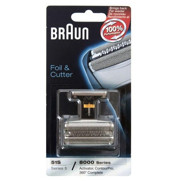Сетка и режущий блок для электробритвы Series 5 51S, Braun