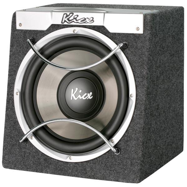 Автомобильный сабвуфер активный ICQ-300BA, Kicx