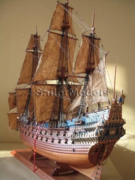 Как самостоятельно сделать корабль из дерева