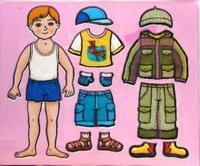 Трафареты пластиковые. наряди мальчика, Дрофа-Медиа