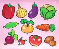 Трафареты пластиковые 1610 овощи, Дрофа-Медиа