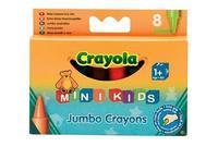 8 восковых мелков для самых маленьких, Crayola