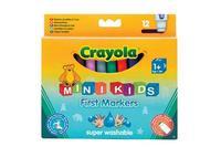 12 цветных фломастеров для малышей, Crayola