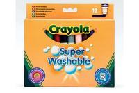 12 смываемых фломастеров в универсальной упаковке, Crayola