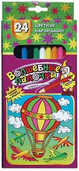 "Карандаши """" (24 цвета), Волшебные палочки"