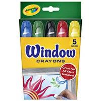 Восковые мелки для рисования на окнах, Crayola