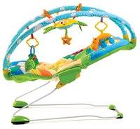 Баунсер – вибрирующее кресло с дугами и игрушками, Tiny Love