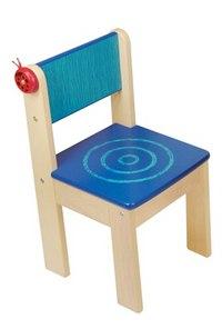 Детский стульчик, синий (без кармашка), I'm Toy
