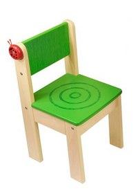 Детский стульчик, зелёный (без кармашка), I'm Toy