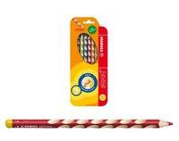 Набор цветных карандашей для левшей easycolors, 6 штук, STABILO
