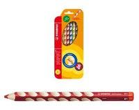 Набор цветных карандашей для правшей easycolors, 6 штук, STABILO