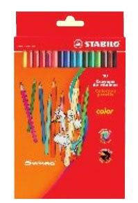 Набор цветных карандашей: 18 цветов, STABILO